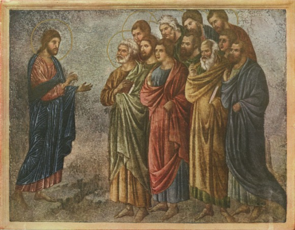 The sending of the Twelve by Duccio di Buoninsegna
